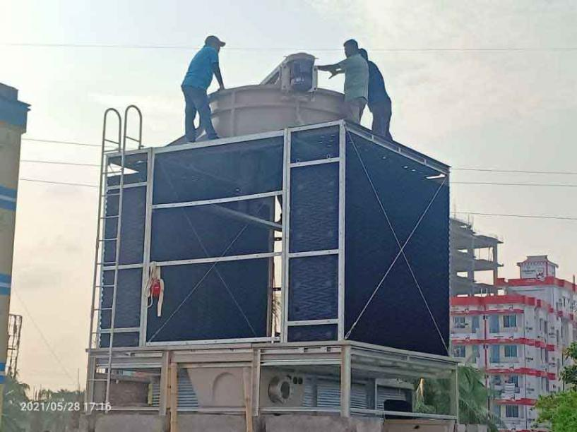 Cooling Tower Install By TBEL Engineers